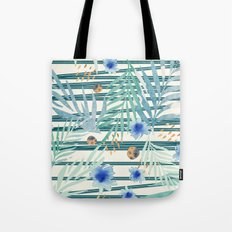 SUMMERTIME STRIPES Tote Bag