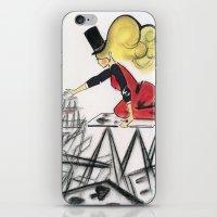 Abracadabra iPhone & iPod Skin