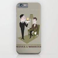 iPhone & iPod Case featuring Jeeves & Wooster by ellis