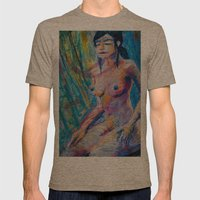 The High Priestess Mens Fitted Tee Tri-Coffee SMALL
