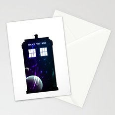 Space in TARDIS Stationery Cards