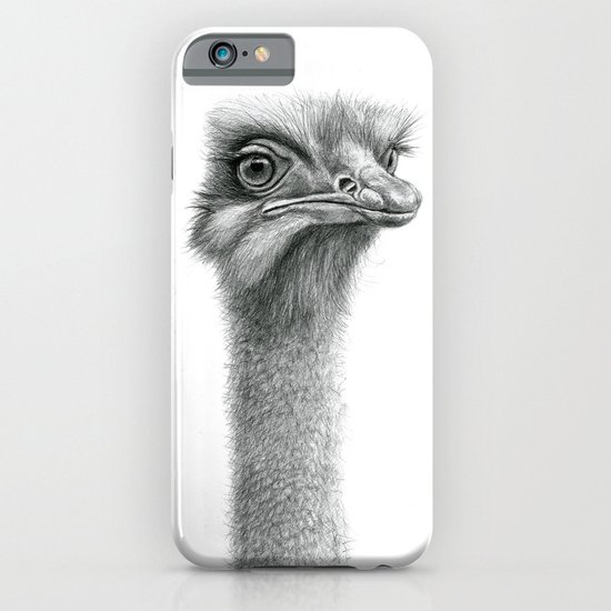 Funny Ostrich SK060 iPhone & iPod Case