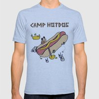 CAMP Mens Fitted Tee Athletic Blue SMALL