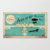 Airship Repair Kit Canvas Print