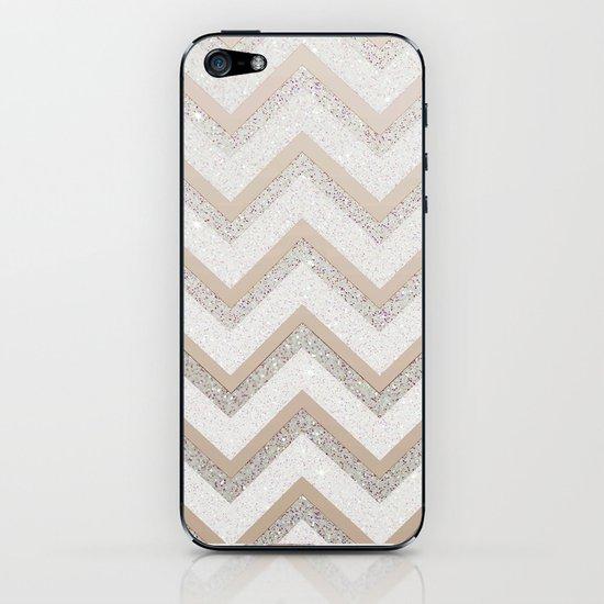 NUDE CHEVRON iPhone & iPod Skin