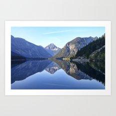 Blick Von Der Plansee (Tyrol) Art Print