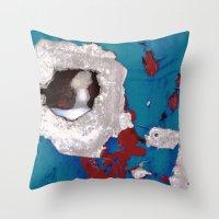 Urban Abstract 108 Throw Pillow