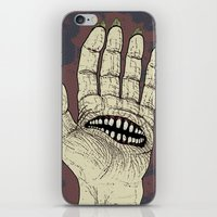 Hungry Hand iPhone & iPod Skin