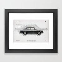 Aerodynamic Technology Framed Art Print