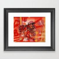 Gong Hey Fat Choy pt. 1 Framed Art Print