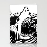 Shark off Stationery Cards