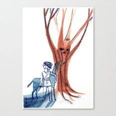 For All Who Tread the Forest Canvas Print