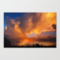 The Storm is Here Canvas Print