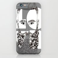 love is beard iPhone 6 Slim Case