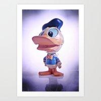 Duck #1 Art Print