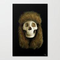 Northern Skull Canvas Print