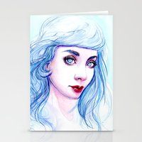 Our Lady Of The Ice Stationery Cards