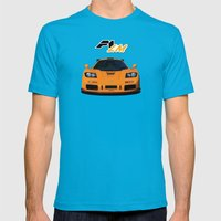 1995 McLaren F1 LM  Mens Fitted Tee Teal SMALL