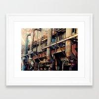 Pipe Dreams II  Framed Art Print