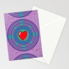 Heartbeat version Stationery Cards