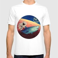 T-shirt featuring Shark by Cs025