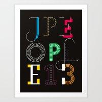 Jpeople Magazine 13 Art Print