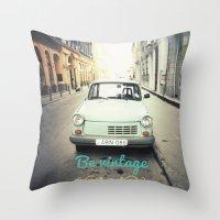 Be Vintage! Throw Pillow