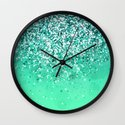 Silver II Wall Clock