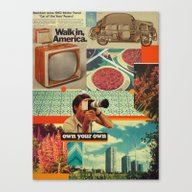 Canvas Print featuring Retrica by Frank Moth