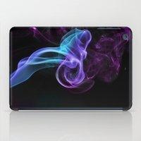 Colored Smoke iPad Case
