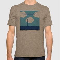 No234 My Truman Show Min… Mens Fitted Tee Tri-Coffee SMALL