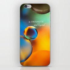 to infinity iPhone & iPod Skin