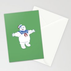 Marshmallow Man Stationery Cards
