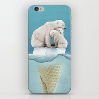 Polar Ice Cream Cap 02 iPhone & iPod Skin