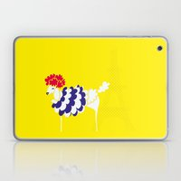French Poodle Laptop & iPad Skin