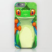 Frankie the Frog iPhone 6 Slim Case