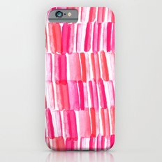 Hello watercolor iPhone 6s Slim Case