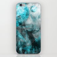 Magic Blue World iPhone & iPod Skin