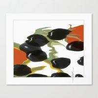 antipasto / olives Canvas Print