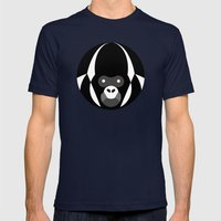 Gorilla Mens Fitted Tee Navy SMALL