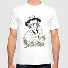 Harry Styles Mens Fitted Tee White SMALL