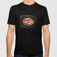 The Funhouse Mens Fitted Tee Tri-Black SMALL