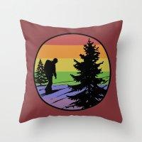 Hiking Throw Pillow