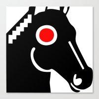 Zelonicus Horse Canvas Print