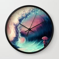 Cross over together Wall Clock
