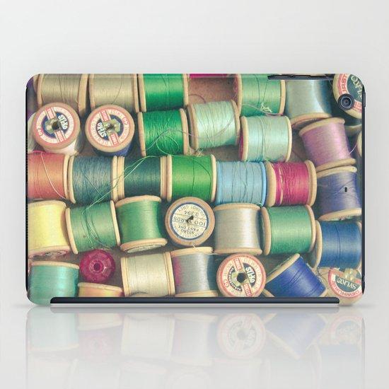 Cotton Reels iPad Case