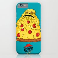 iPhone & iPod Case featuring Pizza The Hutt by Chris Piascik