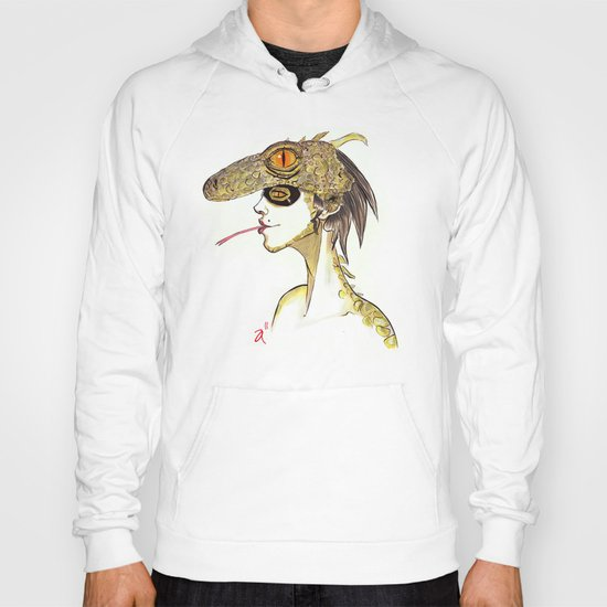 The Masquerade:  The Iguana Hoody