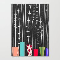 Wild Plants Canvas Print