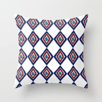 ETHNIC PATTERN Throw Pillow
